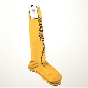 Sock Smith • NWT Knee High Giraffe Socks